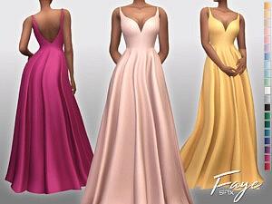 Faye Dress Sims 4 CC