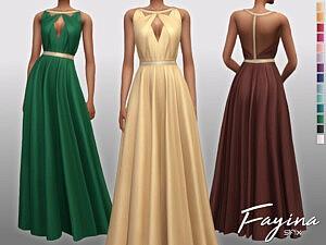 Fayina Dress Sims 4 CC