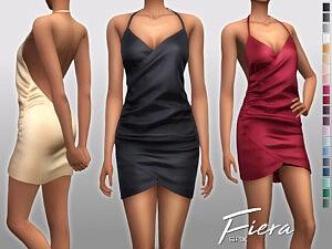 Fiera Dress Sims 4 CC