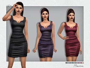 Flavia Dress sims 4 cc