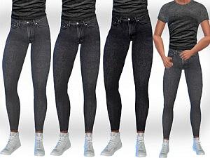 Grey Jeans by Saliwa