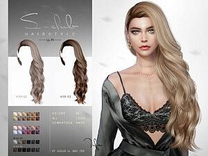 Hair N73 Tifa sims 4 cc