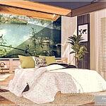 Hanae Bedroom Sims 4 CC