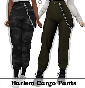 Harlem Cargo Pants sims 4 cc