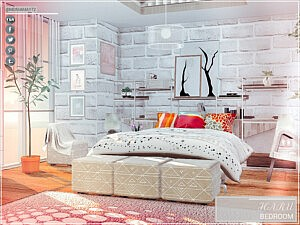 Haru Sims 4 Bedroom