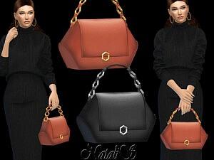 Hehagon shape handbag sims 4 cc