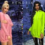 Hendrix hoodie sims 4 cc