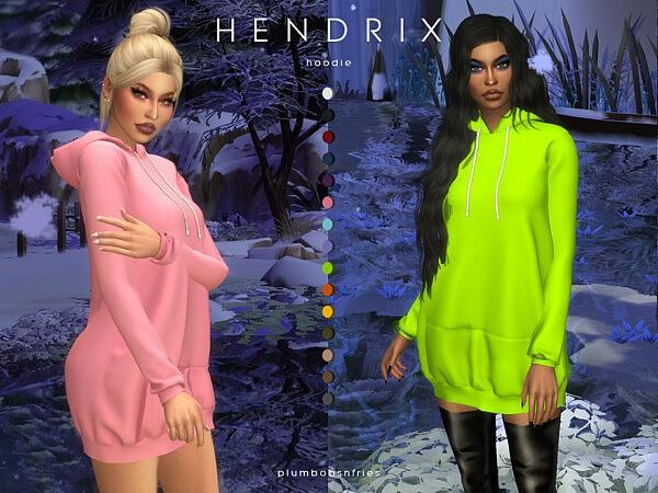 Hendrix hoodie by Plumbobs n Fries from TSR