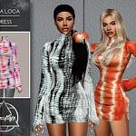 Hora Loca Dress Sims 4 CC