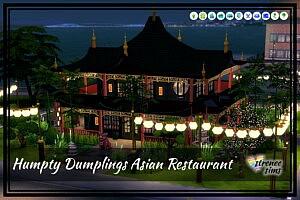 Humpty Dumplings Restaurant Sims 4 cc