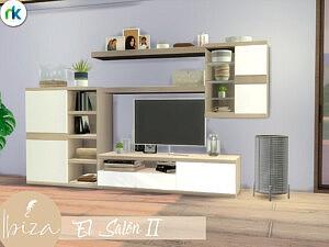 Ibiza El Salon Sims 4 CC
