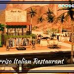 Il Sorriso Italian Restaurant Sims 4 Lot
