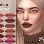 Ivory Lipstick SIms 4 CC