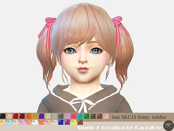Jenny Hair for Toddlers