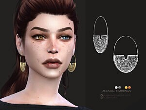Jezabel earrings by sugar owl