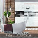 Kaia Bathroom 1 sims 4 cc
