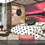 Kaia Bedroom sims 4 cc
