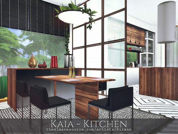 Kaia Kitchen sims 4 cc