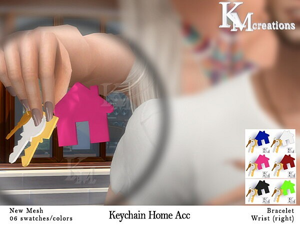 Keychain Home Acc from KM