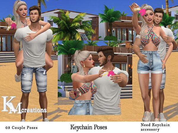 Keychain Poses