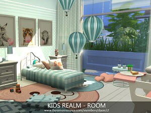Kids Realm Bedroom by dasie2