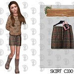 Kids Skirt sims 4 cc