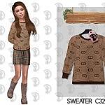 Kids Sweater sims 4 cc