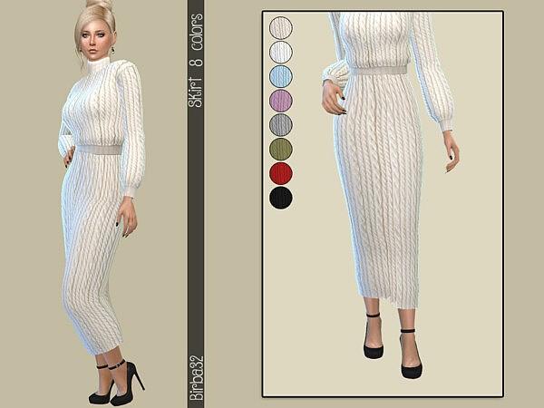 Wool long skirt by Birba32