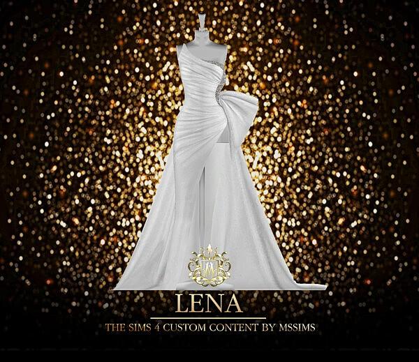 Lena Gown Sims 4 cc