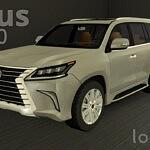 Lexus LX 570 sims 4 cc