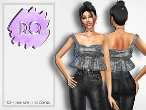 Blouse 40 by D.O.Lilac