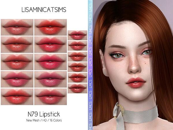 Lipstick N79 sims 4 cc