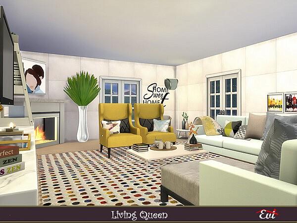 Living Queen sims 4 cc