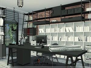 Loft Office room by Danuta720