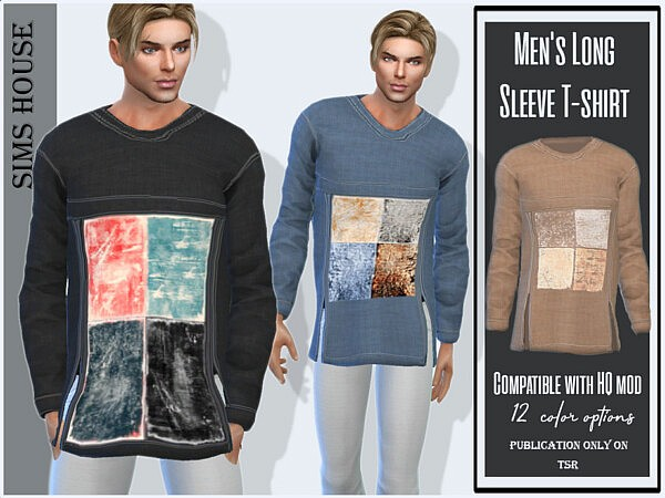 Long Sleeve T shirt by Sims House from TSR