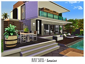 Loraine House sims 4 cc