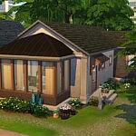 Luminous habitat Sims 4 Lot