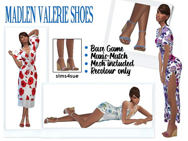 Madlen`s Valerie Shoes from Sims 4 Sue