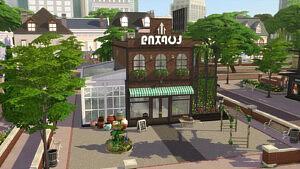 Magnolia Gardens Sims 4 CC