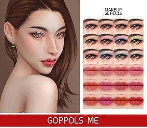 Makeup Set Sims 4 CC