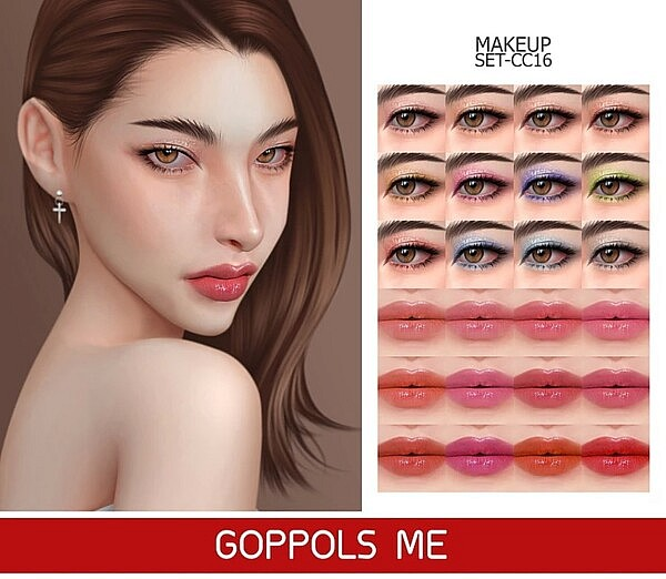 Makeup Set Sims 4 CC