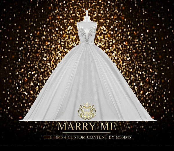 Marry Me Gown