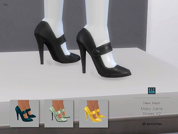 Mary Jane Shoes Set
