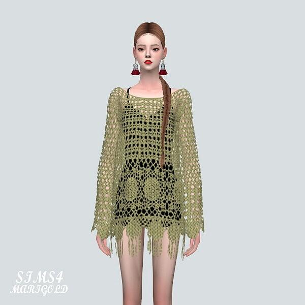 Mesh Mini Dress Sims 4 CC