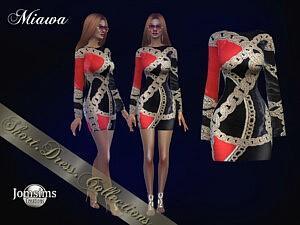 Miawa dress by jomsims