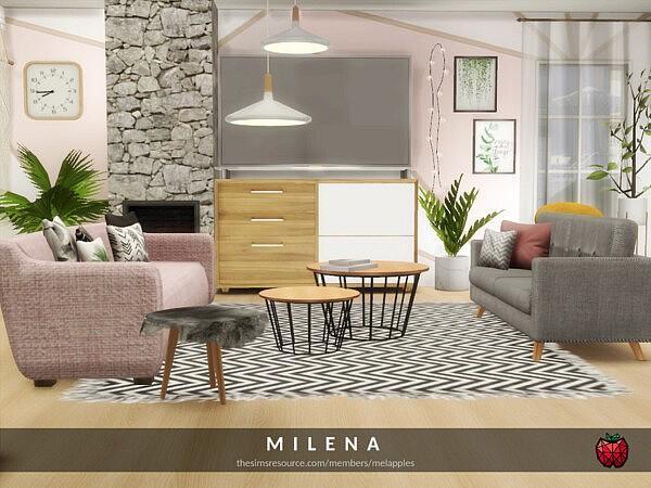 Milena living by melapples from TSR