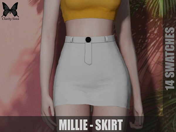 Millie Skirt sims 4 cc