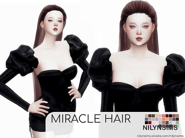 Miracle Hair sims 4 cc