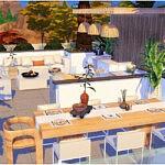Modern Roof Livingroom Sims 4 CC