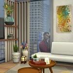 Modern apartment Sims 4 CC